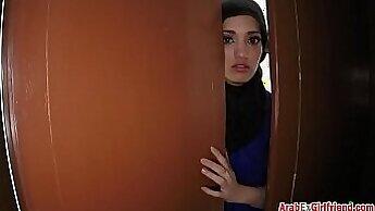 Arab wife makes her husband