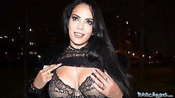 Big tits latin bbw sucks her friends cock
