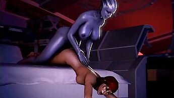 Brooke Satin playing with her sub
