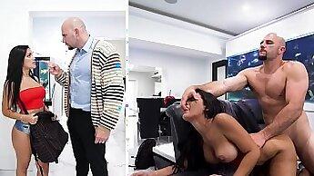 Big tit step dad fucked his porn slut by the pool