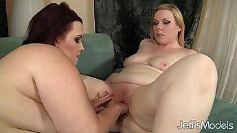 Bangin Dude! Hot Chubby Lesbian Party