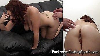Big tits amateur anal squirt casting
