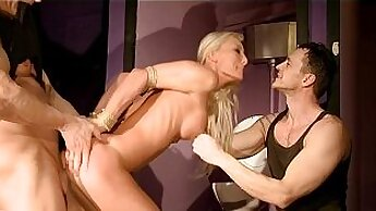Alicia Dagger erections before getting punished by the Stag